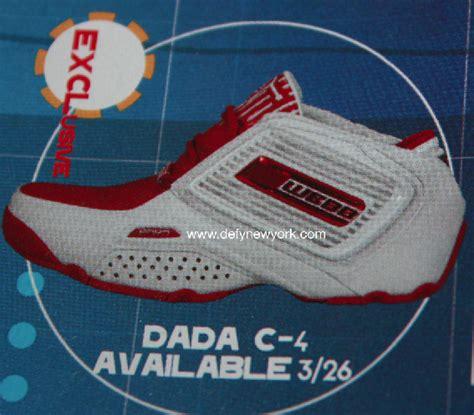 dada c 4 chris webber basketball shoe white 2003