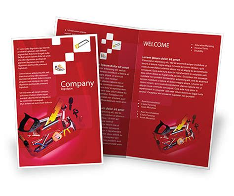 technical brochure templates design and layouts