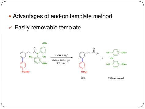 template method end on template method for meta c h activation