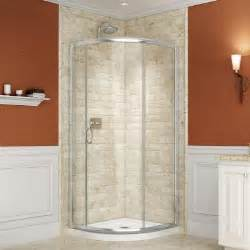 corner shower door kits dreamline 33 in x 33 in x 74 3 4 in frameless