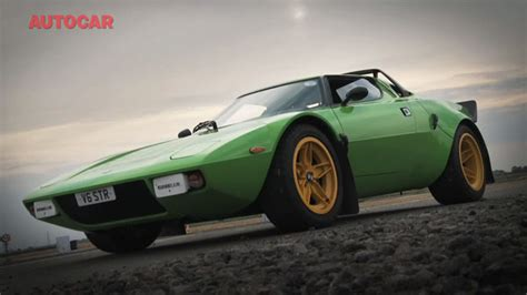 Lancia Stratos Kit The Lancia Stratos Is Back In The Form Of A Kit Car