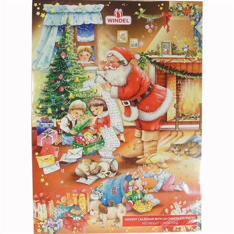 Chocolate Advent Calendar German Advent Calendar Chocolate Calendar Template 2016