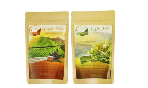 Teatox Lyfe Detox Tea by Green Tea 14 Or 28 Day Lyfe Teatox Groupon