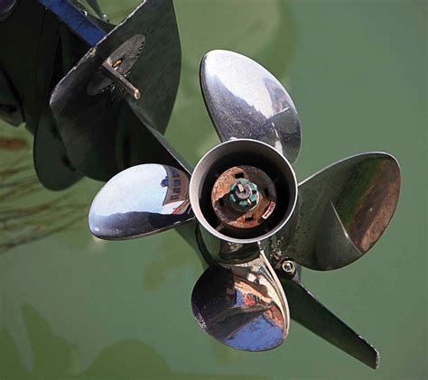 boat engine props five reasons to change your prop boatus magazine