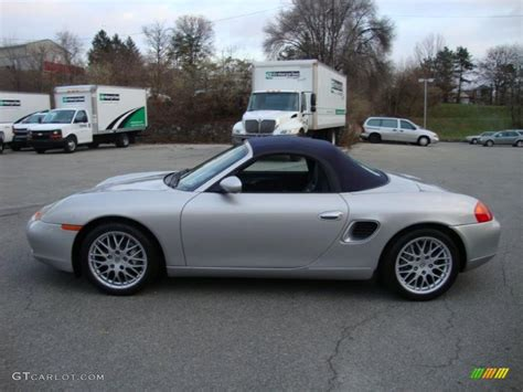 silver porsche boxster 2001 porsche boxster silver 200 interior and exterior