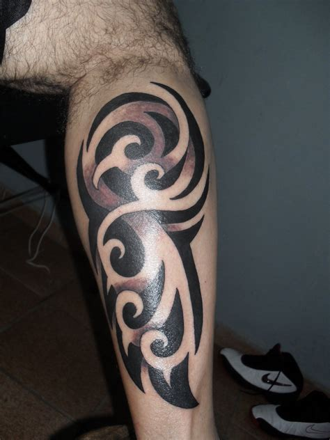 tribal leg band tattoos tribal leg by xandaumtattoo deviantart bands