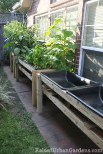 Small Garden Bed Ideas A Raised Bed Garden In A Small Garden Space Small Garden Ideas