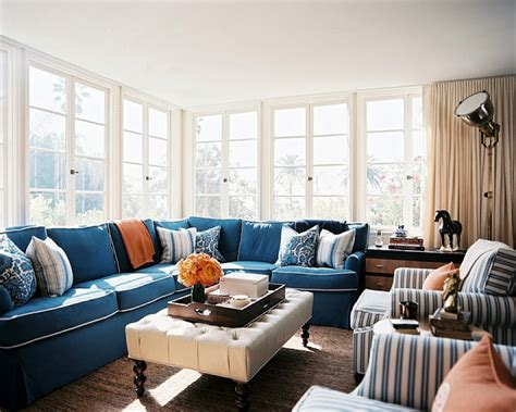blue couch living room ideas beautiful pillows for sofas decorating homesfeed