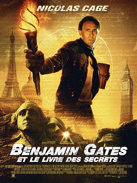 film nicolas cage streaming benjamin gates et le livre des secrets film 2007 allocin 233