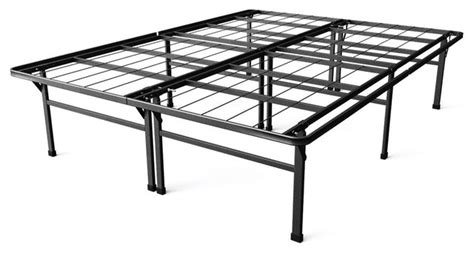 High California King Bed Frame California King Size 18 Quot High Rise Metal Platform Bed Frame Traditional Bed Frames By