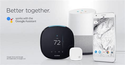 Google Assistant Support Comes To Ecobee Smart Home Products | google assistant support comes to ecobee smart home