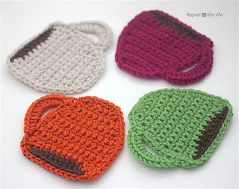 free knitting patterns for coasters free pattern crochet coffee mug coasters that would