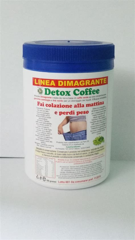 Coffee Detox by Detox Coffee La Natura Ti Cura
