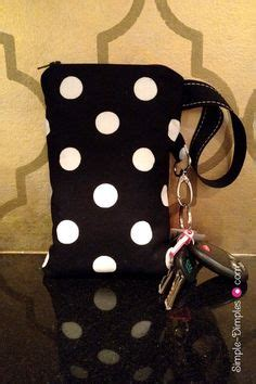 Diy Background Check Diy Wristlet Pouch With Card Slots That Fits Checks Iphone Etc