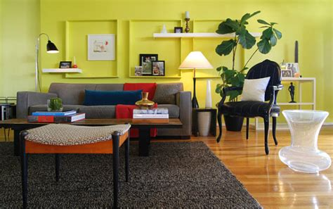 Bright Colors For Living Room Walls by 20 Spaces Featuring Radiant Color In Interior Design