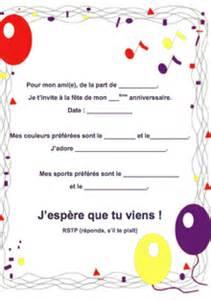 ah bon french writable birthday invitation printables