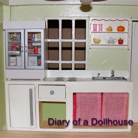 dollhouse kitchen furniture semi handmade dollhouse kitchen cabinets diary of a