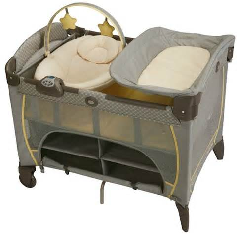 Graco Pack And Play With Bassinet And Changing Table Graco Baby Pack N Play Playard Crib Bassinet With Newborn Napper Dlx Peyton New