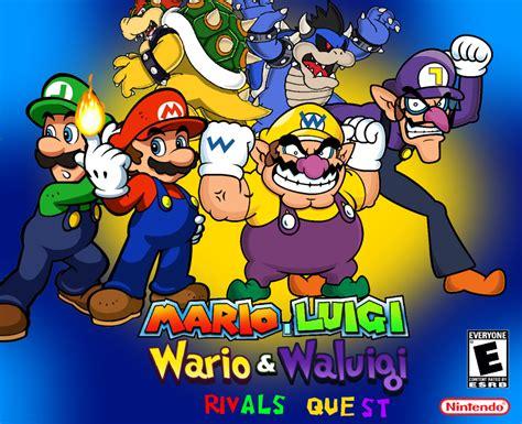 and wario the gallery for gt mario luigi vs wario waluigi