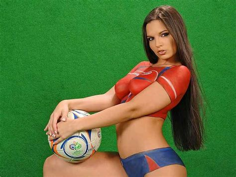 soccer body paint competition what do men really think about your body information