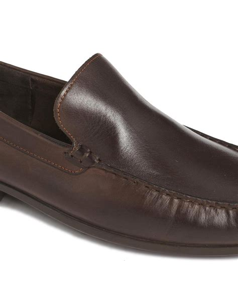 hush puppies shoe sandals hush puppies slip on shoes in brown for lyst