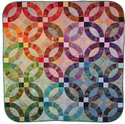 batik pattern for wedding quilt inspiration wedding ring quilts part 3 virginia