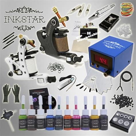 inkstar tattoo kit kit inkstar journeyman kit truecolor 10 colors