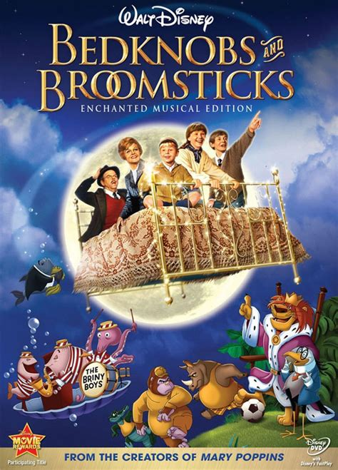 Bed Knobs And Broomsticks by Bedknobs And Broomsticks 1971 Poster 1 Trailer Addict