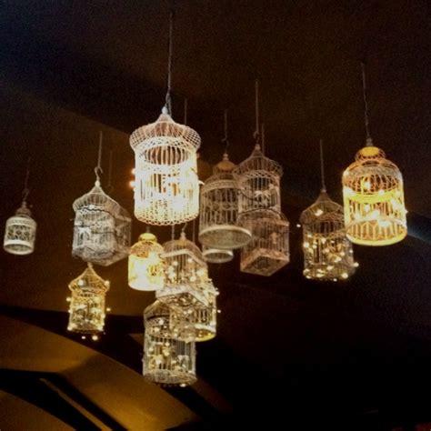 hanging birdcage lanterns lighting pinterest gardens