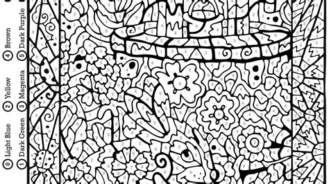 mosaic coloring books free printable mystery mosaic coloring pages to print