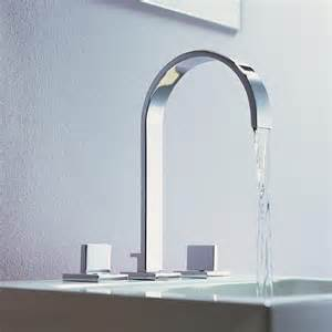 fancy kitchen faucets dornbracht s sleek mem faucet a flat spout fancy