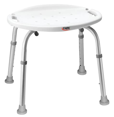 carex bath and shower seat carex adjustable bath and shower seat with back walmart