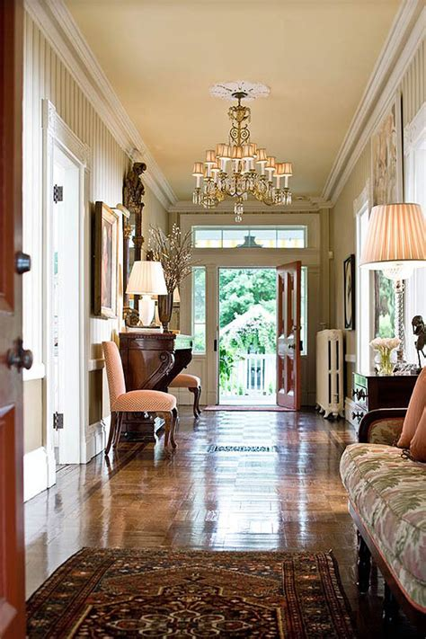 home entry decor classic house great color traditional home