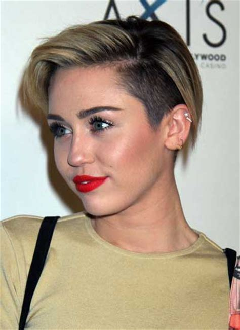 what is the name of miley cyrus haircut miley cyrus from pixie to mohawk