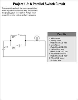 parallel circuits for dummies 28 images electronics projects how to build series and