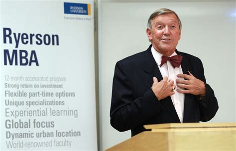 Mba At Ryerson Part Time by Torstar Chair Attacks Federal Conservatives The