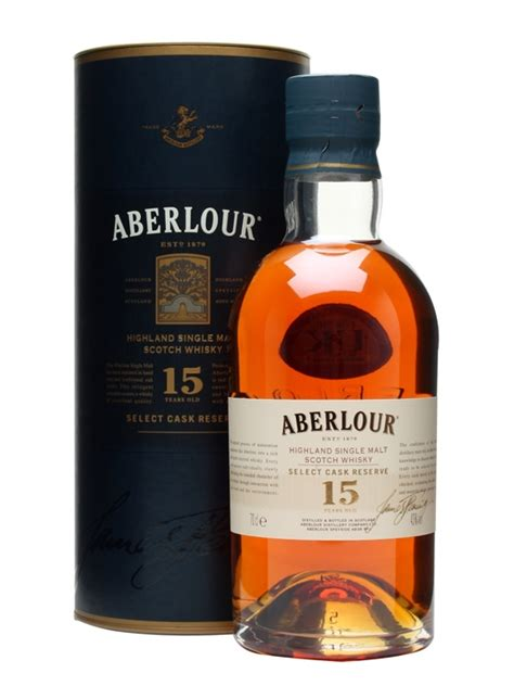 Corporate Gift Singapore aberlour 15 year old select cask reserve scotch whisky