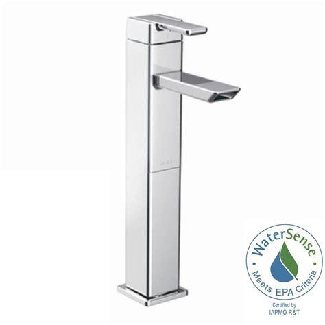 moen vessel sink faucets moen 90 degree vessel bathroom faucet