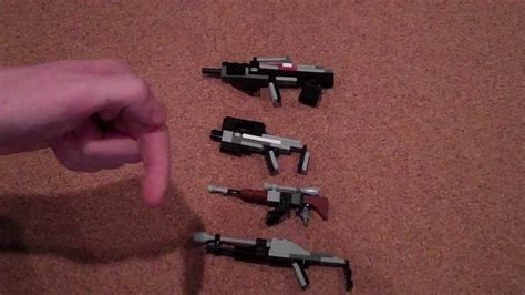 lego revolver tutorial miniature lego guns tutorial youtube