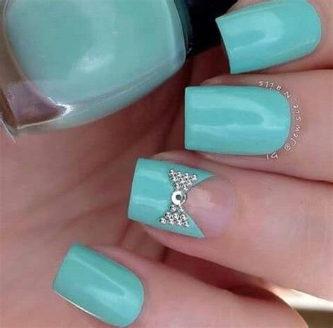 tiffany blue office on pinterest pedicure salon ideas tiffany blue robin s egg blue square tip acrylic nails