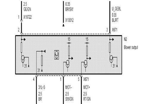 blower motor resistor wiring question