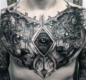 25 best ideas about chest tattoos for men on pinterest