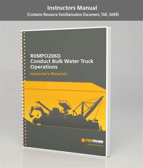 the of ethics in business operations books conduct bulk water truck operations riimpo206d