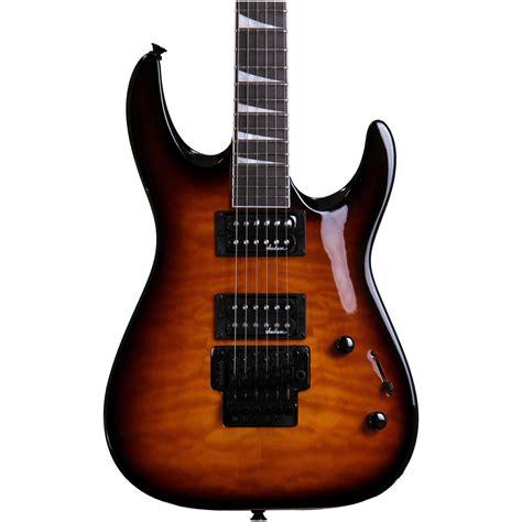 Gitar Jakson Dinky disc jackson js32q dinky electric guitar trans at gear4music