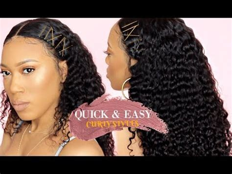 curly hairstyles using bobby pins quick easy hairstyles for curly hair bobby pins