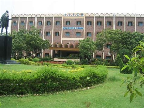 Gitams Vizag Mba by Gitam Bangalore Cus Spot Admissions For B