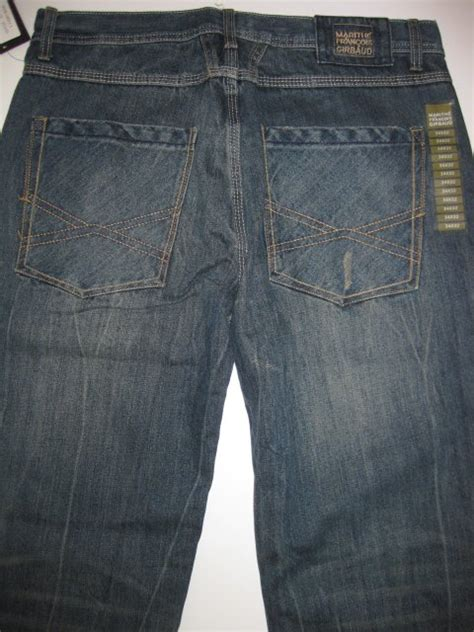 francois girbaud mens jeans marithe francois girbaud brand x edge relaxed fit blue