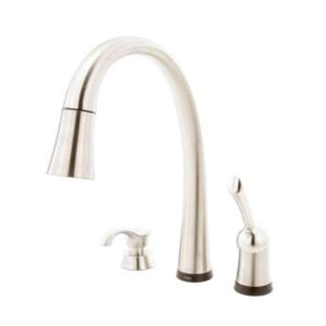 delta pilar kitchen faucet delta pilar single handle pull down sprayer kitchen faucet