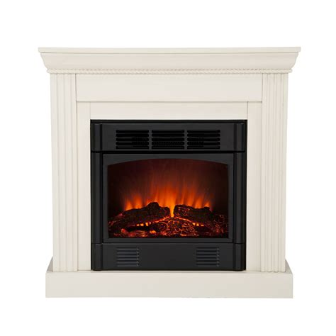 electric fireplace ivory martin bastrop convertible electric fireplace ivory martin 37 036
