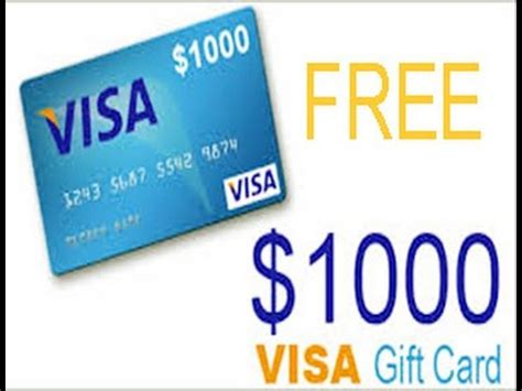 how to get free visa card master card 2017 free